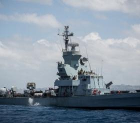 ספינת חיל הים צילום: הדס פרוש/פלאש 90