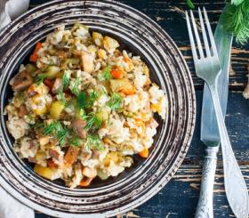 אורז עם ירקות צילום: שאטרסטוק