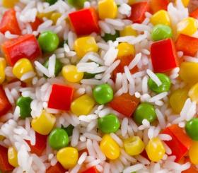 אורז עם גמבה צילום: שאטרסטוק