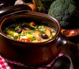 מרק ירקות צילום: שאטרסטוק